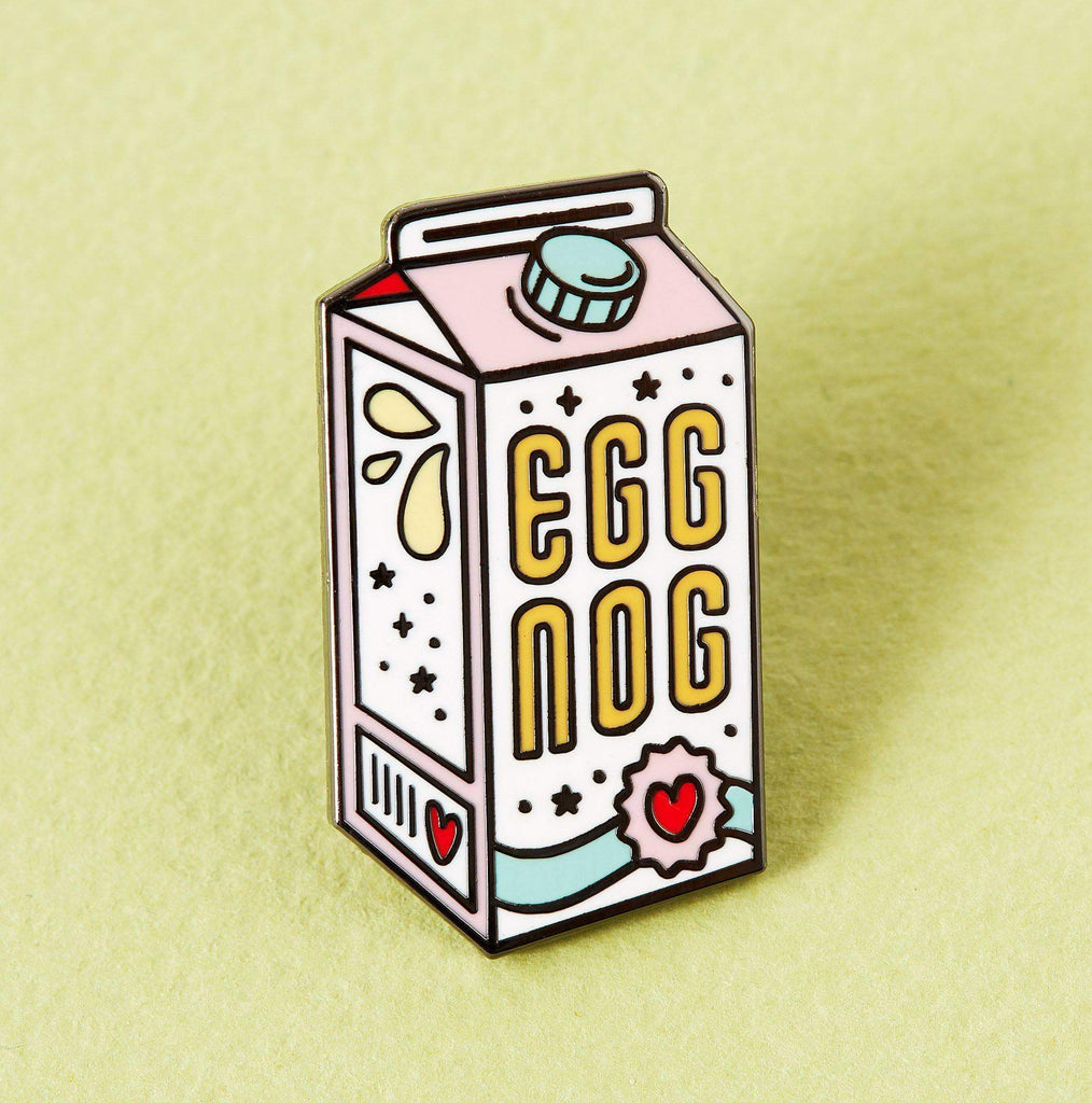 Punky Pins Egg Nog Enamel Pin