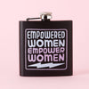 Punky Pins Empowered Women Hip Flask