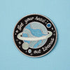 Punky Pins Get Your Head Out Uranus Embroidered Iron On Patch