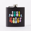 Punky Pins Just Water Hip Flask