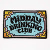 Punky Pins Midday Drinking Club Embroidered Iron On Patch