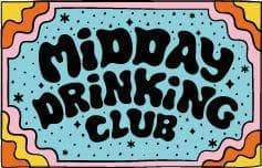 Punky Pins Midday Drinking Club Enamel Pin