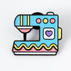 Punky Pins Sewing Machine Enamel Pin