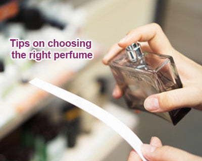 Tips on choosing the right perfume