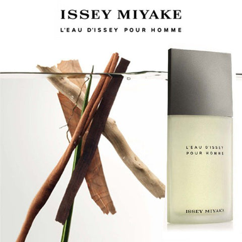 fca6fdf174 Issey Miyake uses very unusual and rare materials in order to create  perfumes that evoke the sense of timeless freedom and serenity. L'Eau  d'Issey Pour ...