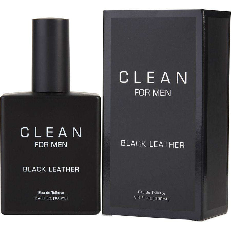 Clean Black Leather Men 100ml