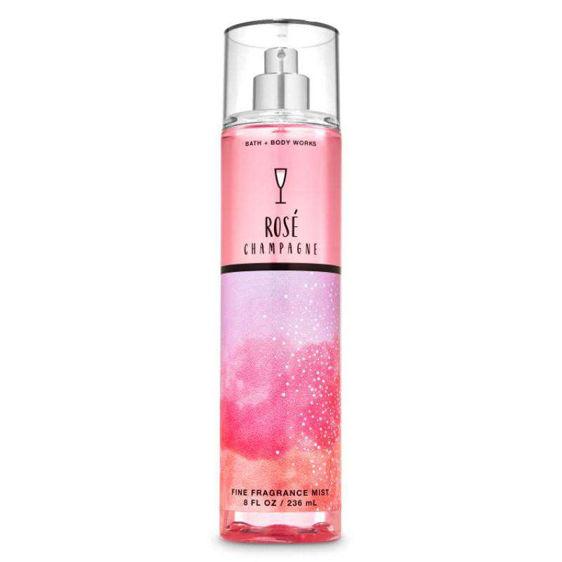 Bath & Body Works Rose Champagne Fragrance Mist 236ml
