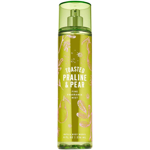 Bath & Body Works Toasted Praline  & Pear Fragrance Mist 236ml