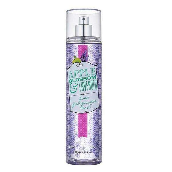 Bath & Body Works Apple Blossom & Lavender Fragrance Mist 236ml - Perfume Philippines