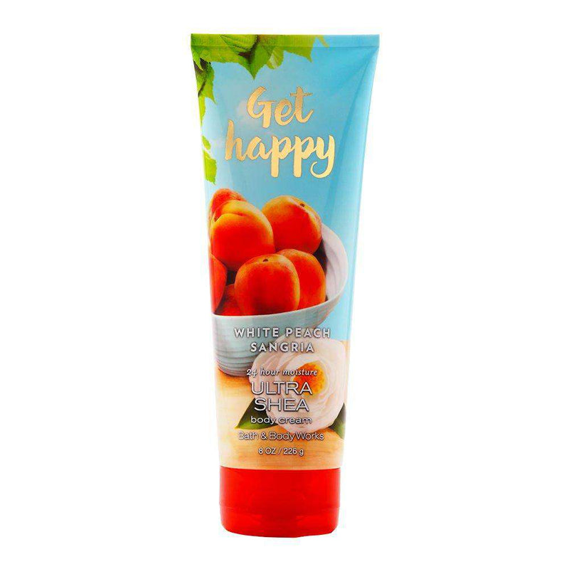 Bath & Body Works Get Happy White Peach Sangria Body Cream 226g - Perfume Philippines