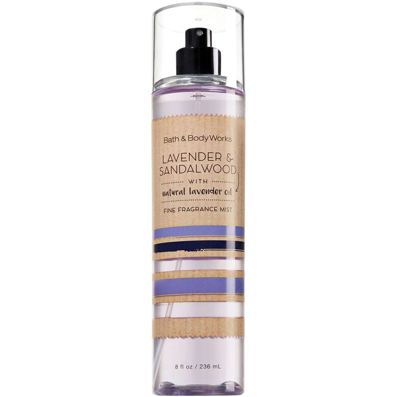 Bath & Body Works Lavender & Sandalwood Fragrance Mist 236ml - Perfume Philippines