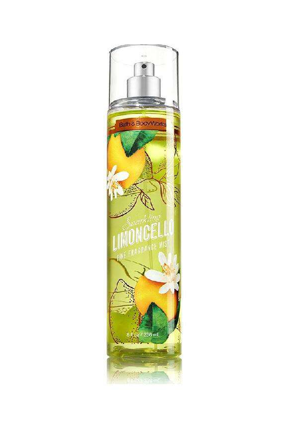Bath & Body Works Sparkling Limoncello Fragrance Mist 236ml - Perfume Philippines