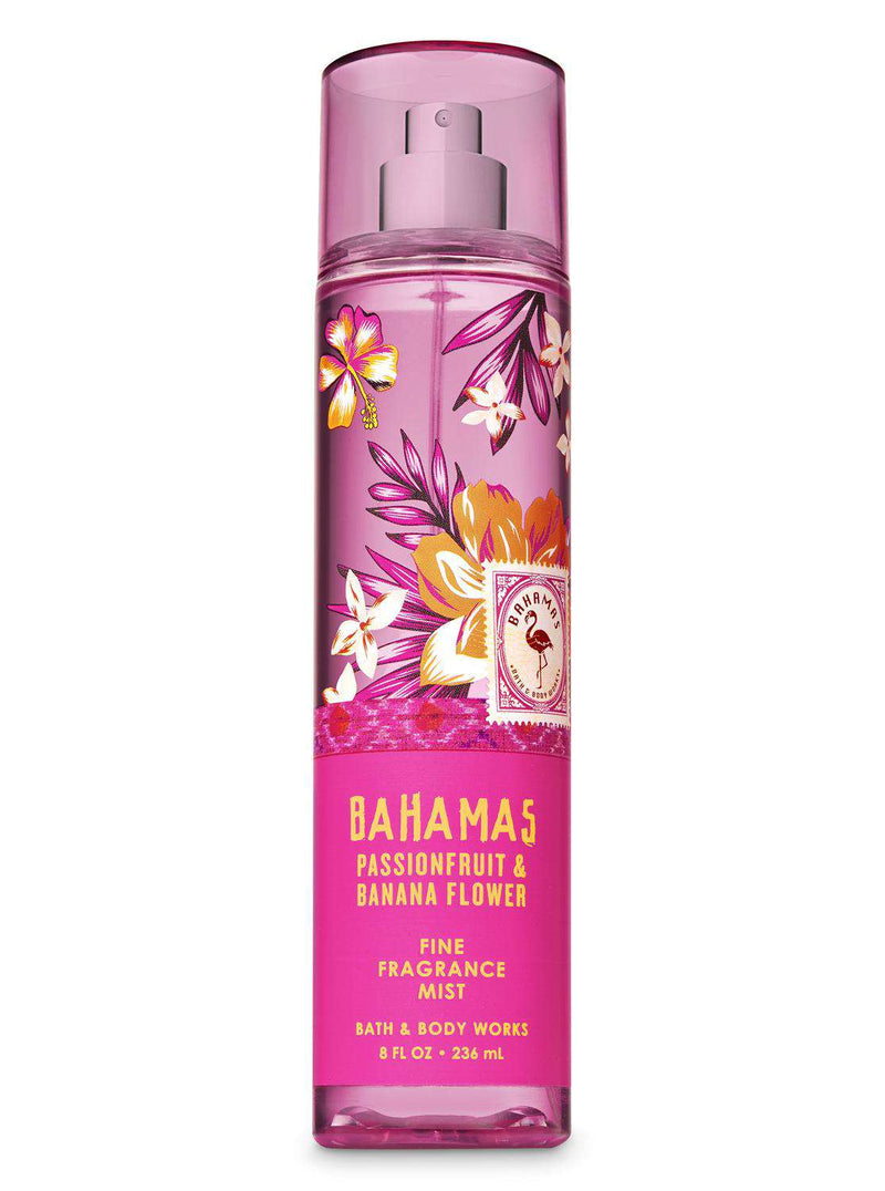 Bath & Body Works Bahamas Passion Fruit & Banana Flower Fragrance Mist 236ml - Perfume Philippines