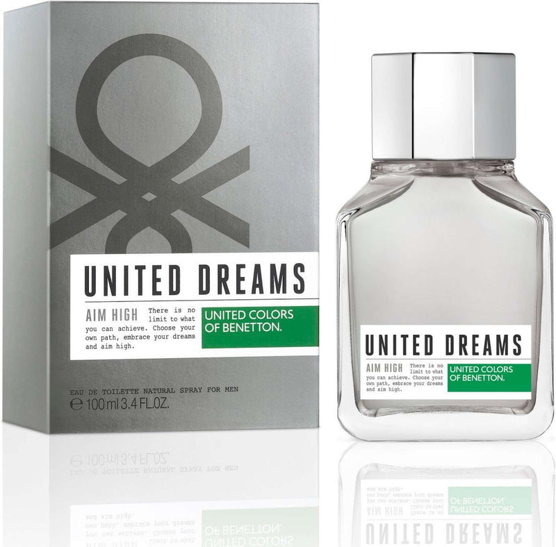 Benetton United Dreams Aim High Men EDT 80ml - Perfume Philippines