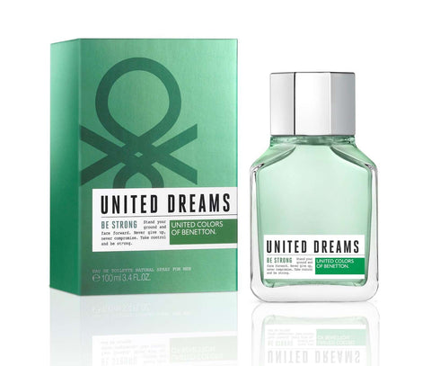 Benetton United Dreams Be Strong Men EDT 100ml - Perfume Philippines