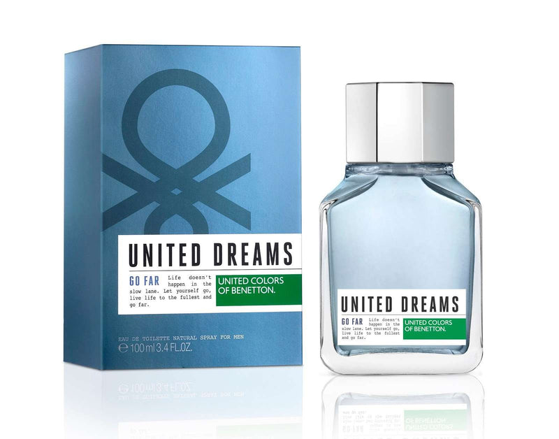 Benetton United Dreams Go Far Men EDT 100ml - Perfume Philippines