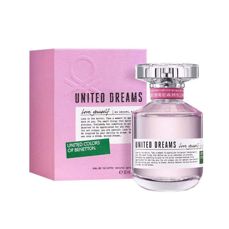 Benetton United Dreams Love Yourself Women EDT 80ml - Perfume Philippines