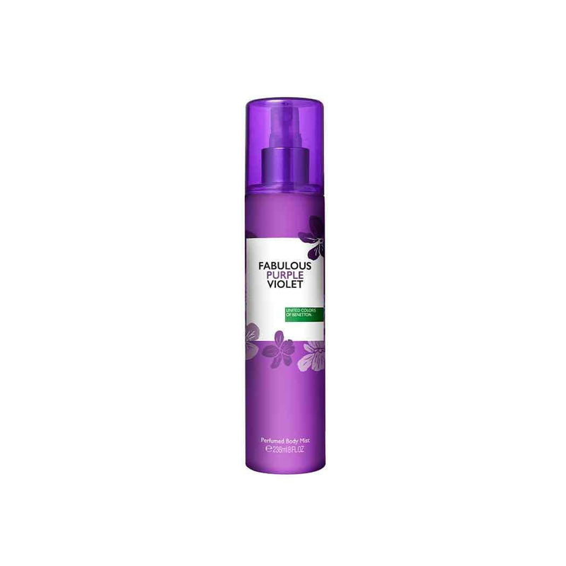 Benetton Fabulous Purple Violet Perfumed Body Mist 236ml