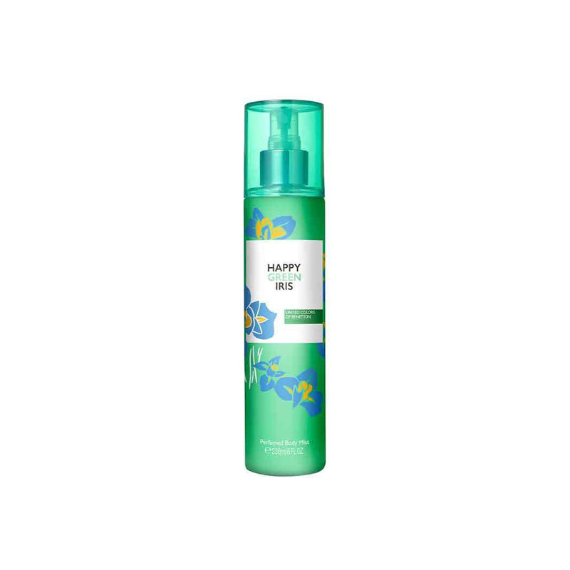 Benetton Happy Green Iris Perfumed Body Mist 236ml