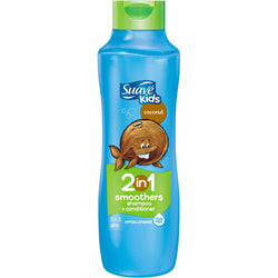 Suave Kids Coconut Smoothers 2-in-1 Shampoo +Conditioner 665 ml - Perfume Philippines