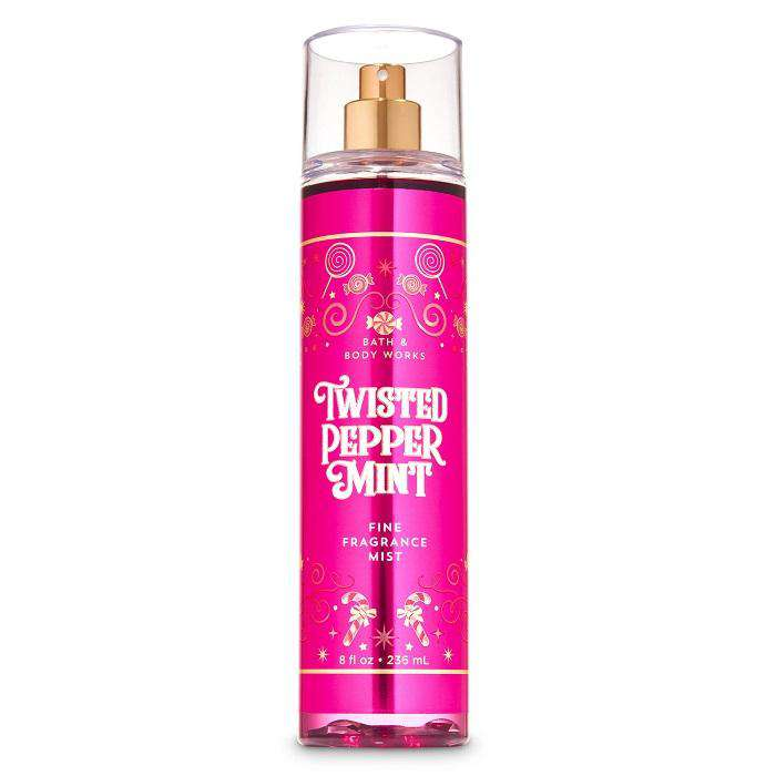 Bath & Body Works Twisted Peppermint Fragrance Mist 236ml - Perfume Philippines