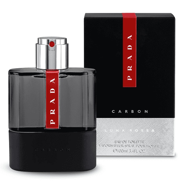 Luna Rossa Carbon by Prada 100ml Eau De Toilette Spray for Men - Perfume Philippines