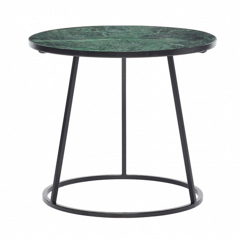 Hübsch TABLE Sofabord, Grøn Marmor