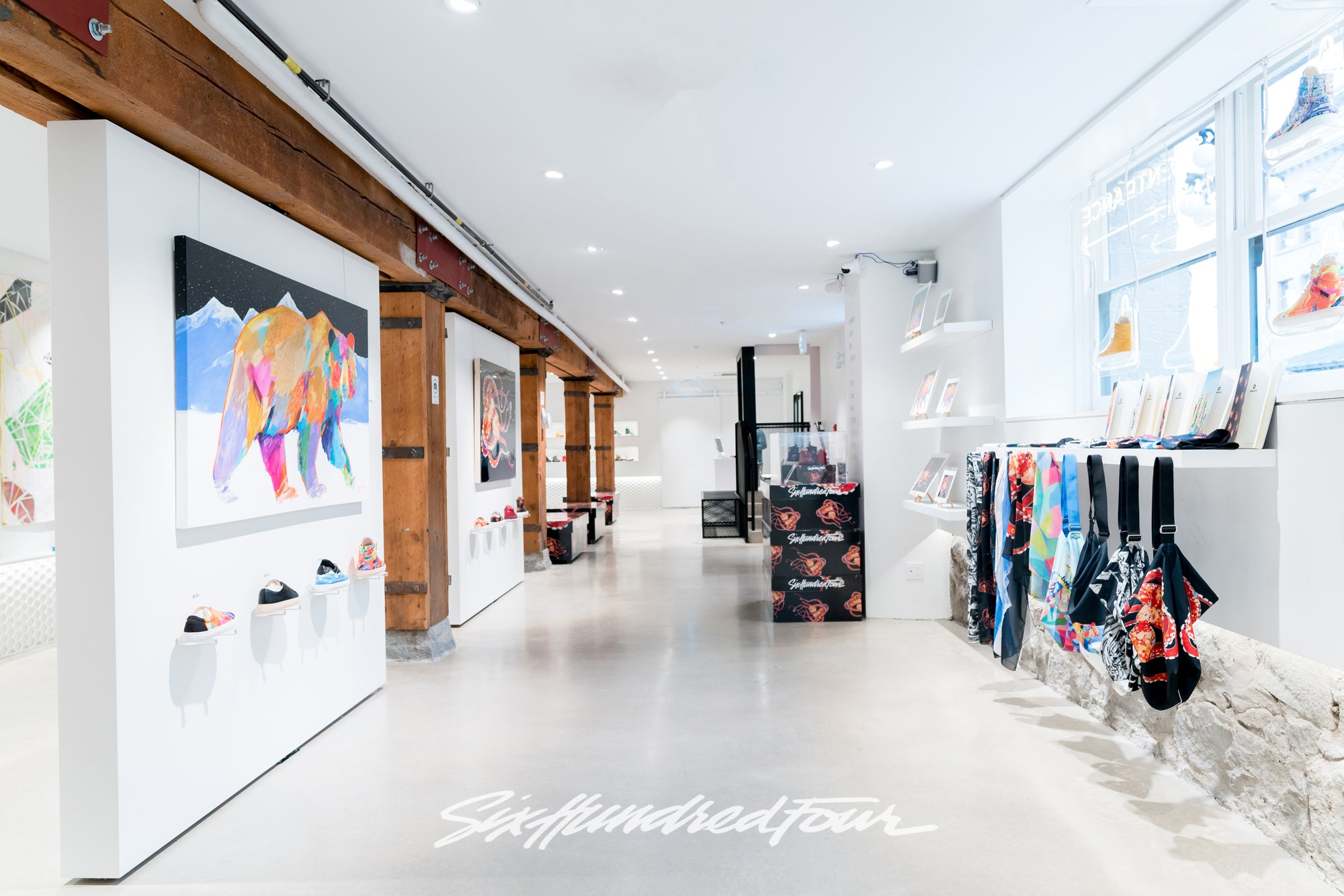 View of Six Hundred Four Sneaker Gallery