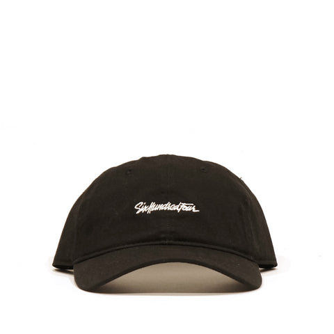 Curved Low Rise Hat - Black