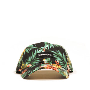 Curved Low Rise Hat - Hawaii Black
