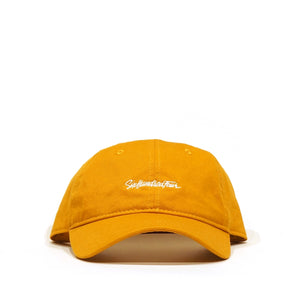 Curved Low Rise Hat - Mustard