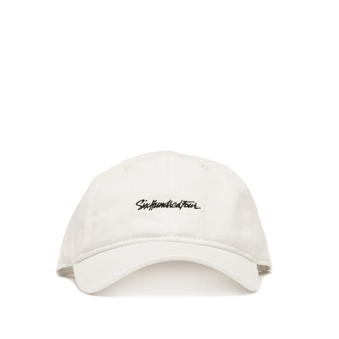 Curved Low Rise Hat - White