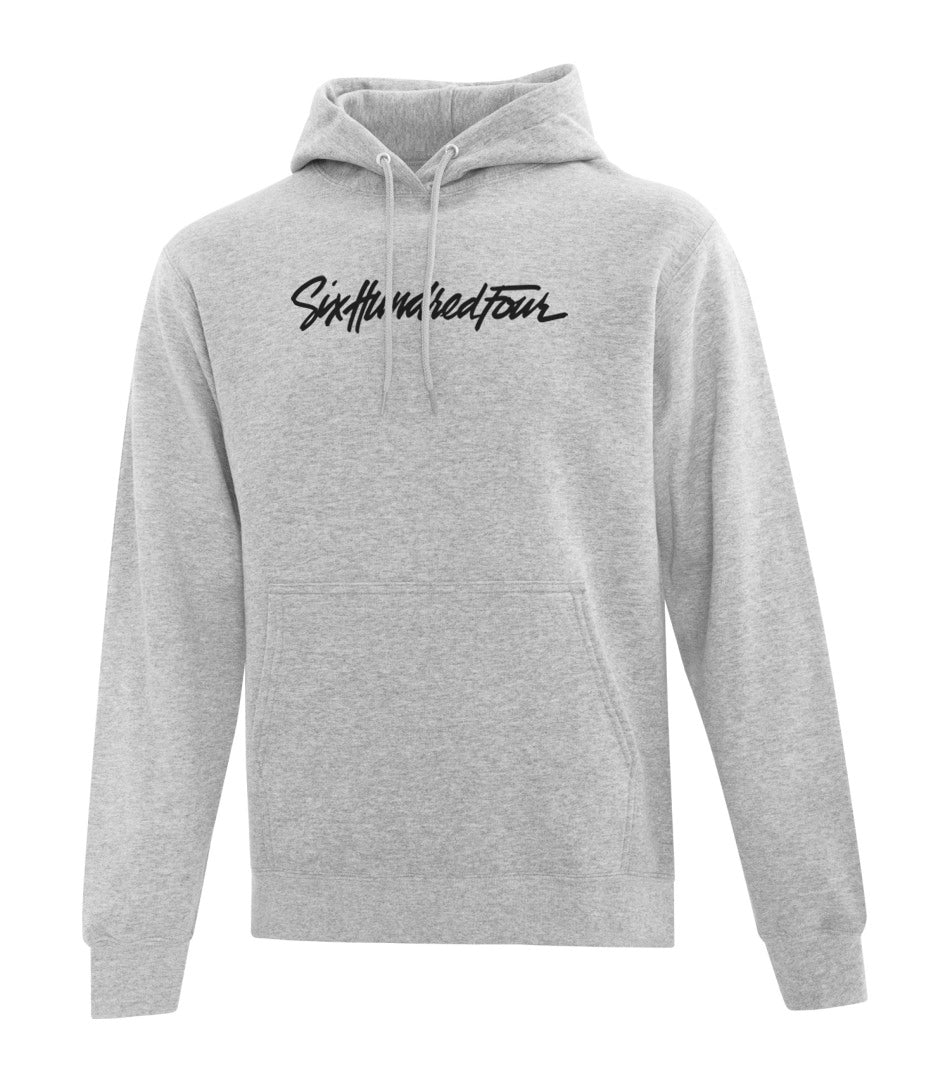 Branded Hoodie - Heather Grey