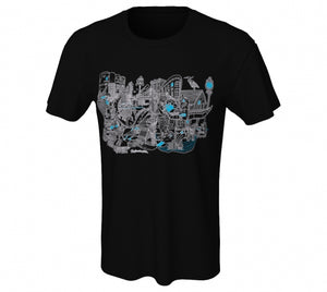 Ting Unisex T-shirt - Black