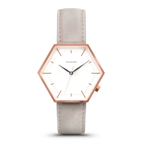 Hex Watches by Solgaard Design - Women's Aria Series One - Stone
