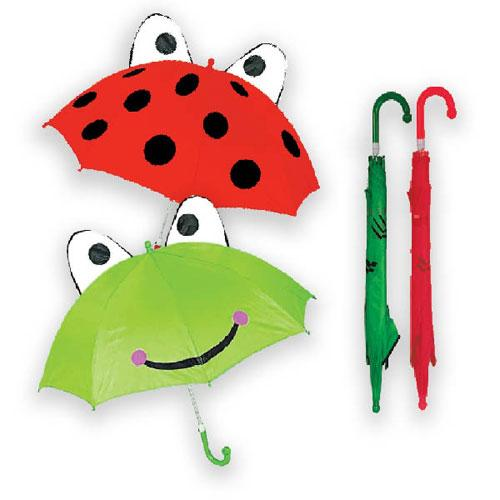 Frog/Ladybird Childrens Animal Umbrella