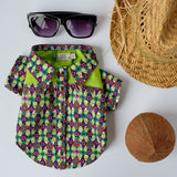 Summer Floral Dog Shirt | Aloha