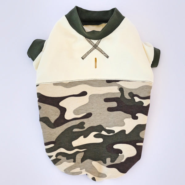 Camo Hoodie for all size Dogs