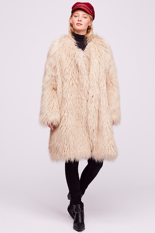 Florence Fur Coat Free People