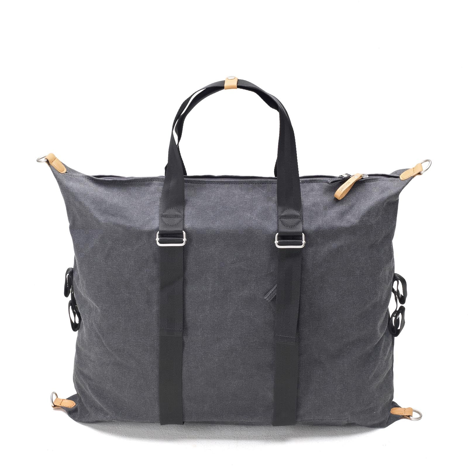 Simple Holdall Washed Black Qwstion