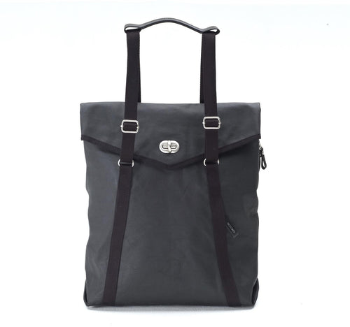 Tote Organic Jet Black Qwstion