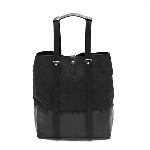 Shopper Black Leather Qwstion