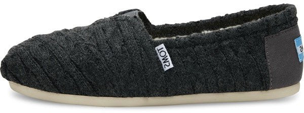 Espadrilles Seasonal Classic Cable Knit Toms