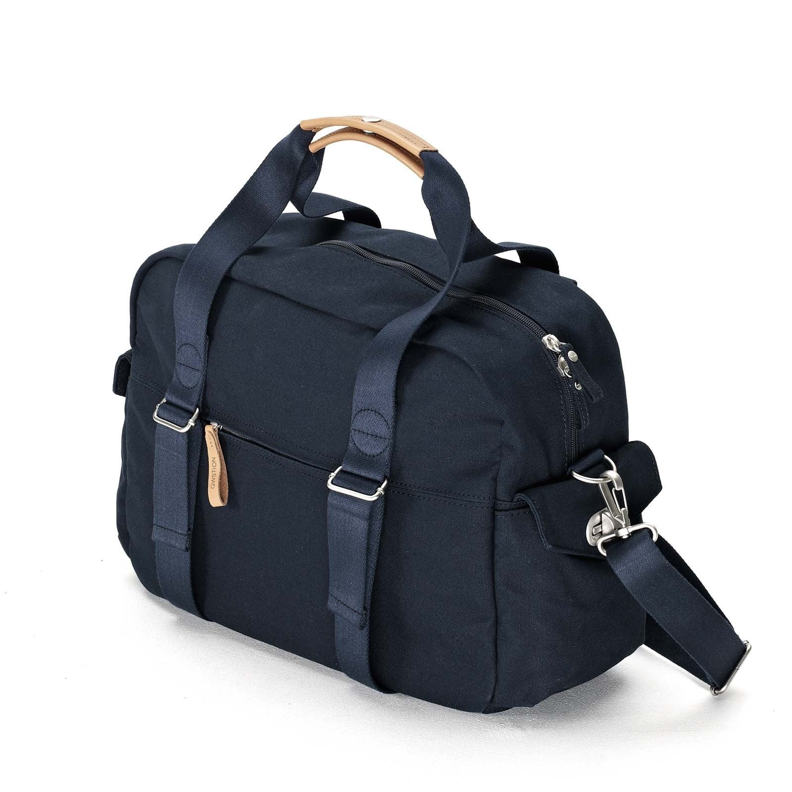Overnighter Organic Navy Qwstion