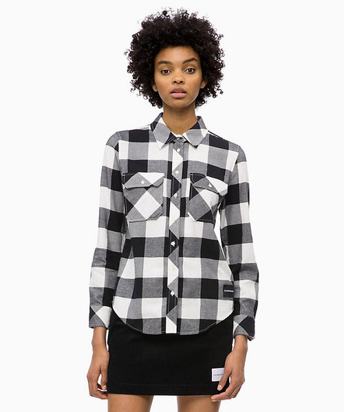 Flannel Check Shirt Calvin Klein