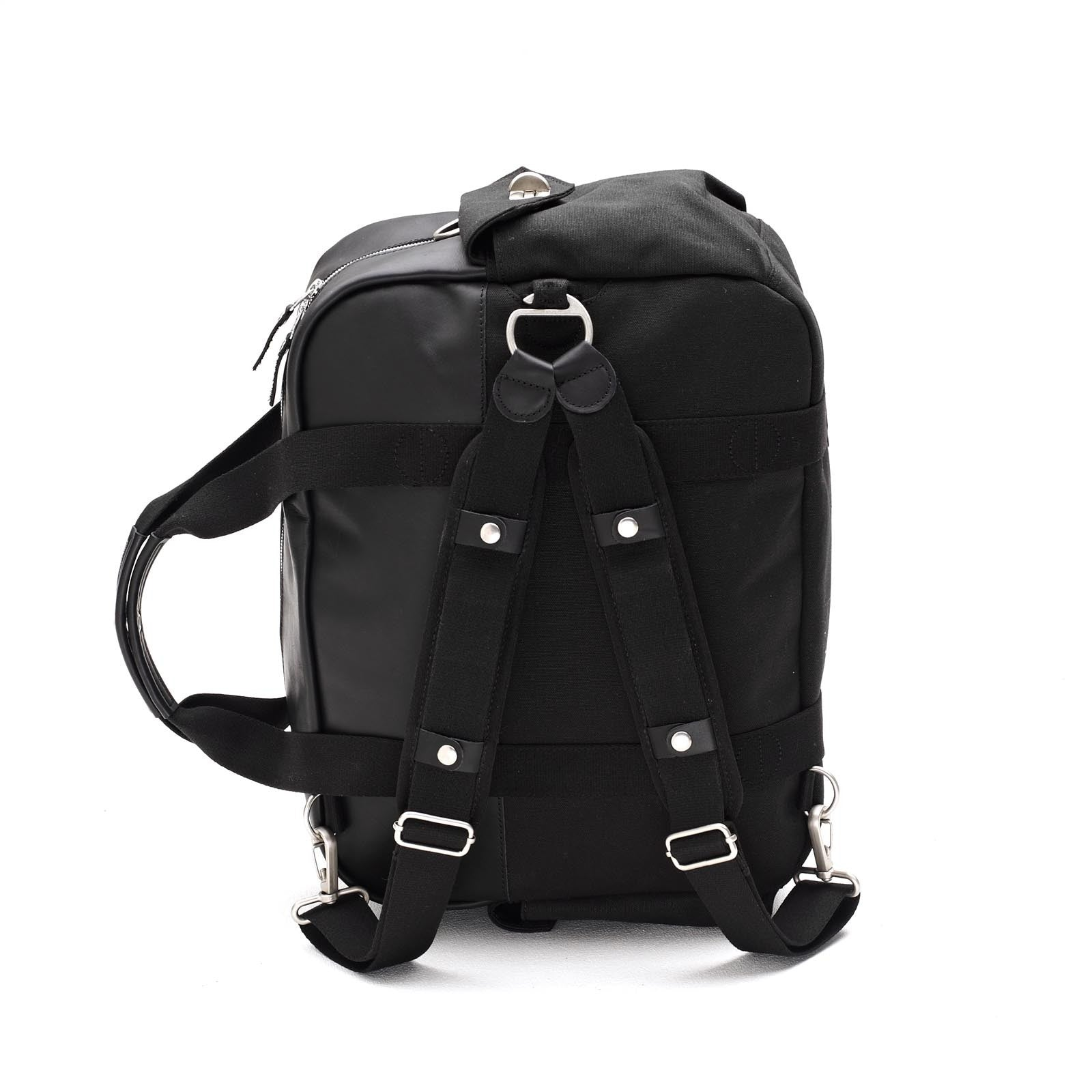 Overnighter Black Leather Qwstion