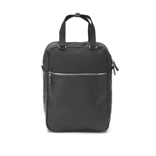 Simple Pack Black Leather Canvas Qwstion