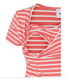 Lea Organic Nell Short Sleeved Nursing Tops 2 PACK.