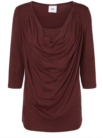 Wrammy Nell Long Sleeved Waterfall Nursing Top