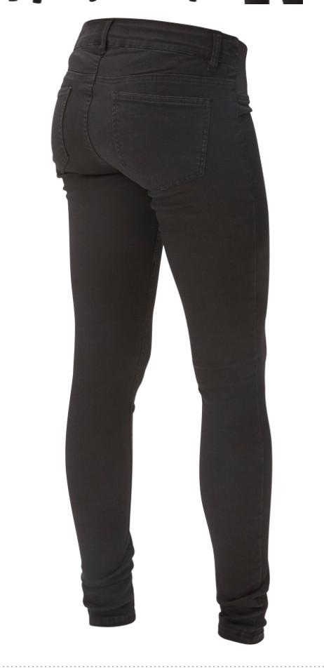 Ella Skinny Black Maternity Jeggings